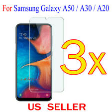3x Clear Screen Protector Guard Cover Film For Samsung Galaxy A50 / A30 / A20