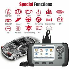 OBD2 Multi-Function Car Diagnostic Scanner Tool Airbag ABS Engine  DPF OIL iAuto