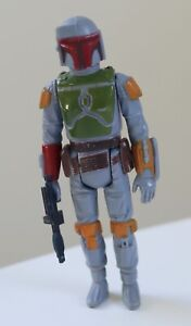 STAR WARS Vintage Action Figure BOBA FETT Complete [Original Weapon] CPG 1979 HK