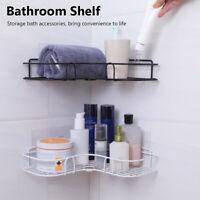 HOT Bathroom Shelf Wall Mounted Storage Rack Organizer Shower Accessories Holder