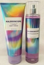 (2) New Bath Body Works Kaleidoscope Fine Fragrance Mist 8 Oz Shea Lotion Cream