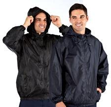Mens Waterproof Rain Jacket Kag in a Bag Pack away Festival Storm M-XL