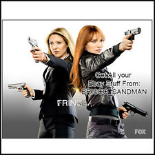 Fridge Fun Refrigerator Magnet FRINGE Fox TV Show - Anna Torv Olivia Dunham v: B