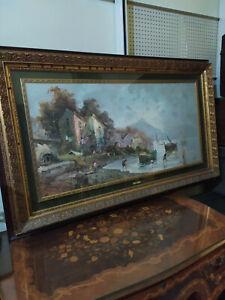 Quadro olio su tela Antonio De Vity