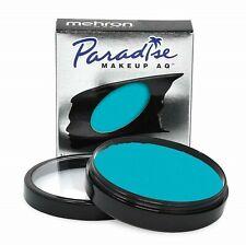 Mehron Makeup Face, Body Paint Paradise Makeup AQ  Size: 1.4 oz (40 g) -Teal.