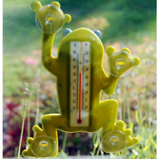 Frog Window Thermometer Indoor Outdoor Use for Car or Home