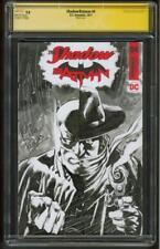 Batman Shadow 4 CGC SS 9.8 Perkins Original art Sketch Patterson new Movie 1/17