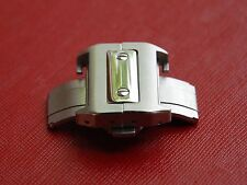 21mm Stainless Deployment Buckle Clasp for CARTIER SANTOS Watch Brand new