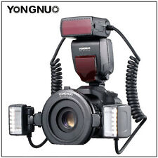YONGNUO TTL YN24EX Macro Ring Flash Light 4 adapter rings for Canon EOS camera