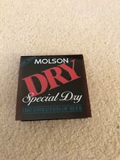 Molson Dry (Special Dry) Display Card