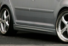 Optik Seitenschweller Schweller Sideskirts ABS für Ford Fiesta 5 MK 6  Facelift