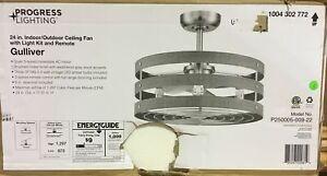 Progress Lighting Light Ceiling Fans For Sale In Stock Ebay