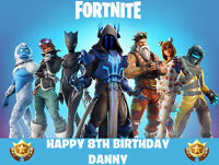 FORTNITE Premium Easy To Use Edible Icing Cake Decoration Image Topper Party