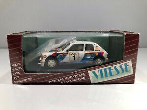 1/43 VITESSE Voiture Miniature PEUGEOT 205 EVOLUTION 2 1986
