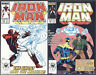 Iron Man #219 220 221 Set 1st App The Ghost from Antman & Wasp Movie Marvel 1987