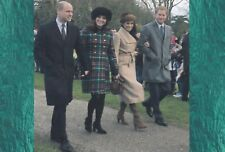 """WILLIAM AND KATE, HARRY AND MEGHAN PIC FRIDGE MAGNET 5"""" X 3.5"""""""