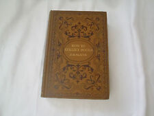 How To Collect Books by J H Slater  1905  illus Binding