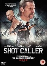 Shot Caller  with Nikolaj Coster-Waldau New (DVD  2017)