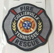 Collierville Tennessee Fire Rescue Department Patch TN
