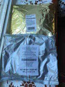 Teavana (4 Lbs) 2 Flavors (2 lbs in each bag )Samurai Chai & Maharaja Chai