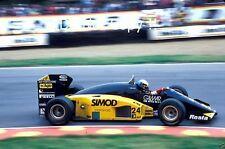 Alessandro Nannini Minardi M185B British Grand Prix 1986 Photograph