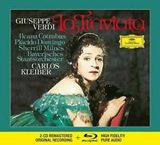 Verdi: La Traviata - Bavarian State Orch Milnes Kleiber (NEW 2CD+BLU-RAY AUDIO)