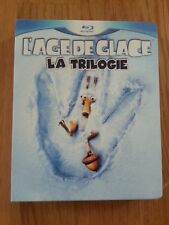 Coffret Blu-ray L'âge de glace la trilogie