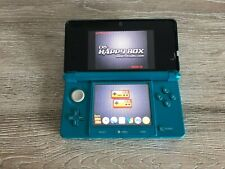 Nintendo 3DS Aqua Teal Blue with 2Gb R4 Card Very Nice Condition.