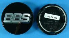 BBS Felgendeckel Embleme schwarz/chrom 70,6mm 09.24.494