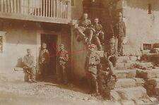 Nr 10946 Foto PK K.u.K. Soldaten IR 1 Feldpost 398 Insonzo Südtirol Italien