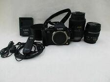 Panasonic DMC-G3 Mirrorless Camera with 14-42 & 45-200mm Lenses
