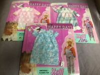 3x Simba Steffi Love Happy Days Set Umstandskleider - 29cm Mode-Puppen Outfit