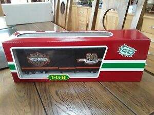 LGB Harley Davidson 90th Anniversary Box Car 4067HD