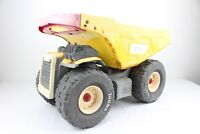 Hasbro Yellow Metal Mighty Tonka Dump Truck with Red Handle #9159 2004