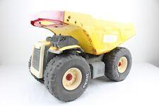Hasbro Yellow Metal Mighty Tonka Dump Truck with Red Handle #9159 2004