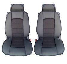 PREMIUM BLACK CUSHION PADDED SEAT COVERS FOR PEUGEOT 206 307 407 208 308 MPV