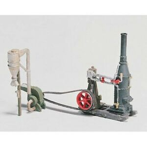 Woodland Scenics D229 HO-Scale KIT Steam Engine & Hammer Mill, Metal, Lumberyard