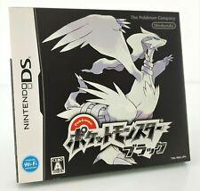 Pokemon version Noire  (Noir / Black) - Jeu Nintendo DS JAP Japan complet (2)