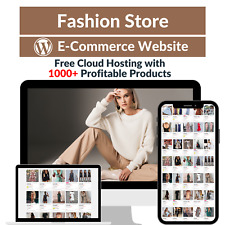 Fashion Store Amazon Business Affiliate Dropshipping Website With 1000 Products
