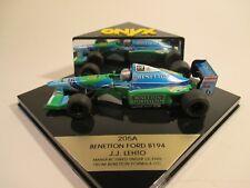 Onyx 205A Benetton Ford B194 Lehto 1:43 MIB
