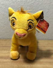 """Disney's The Lion King (2019) Simba Plush Beanie Toy by Just Play 7"""""""
