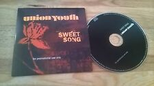 CD Metal Union Youth - Sweet Song (1 Song) Promo ROADRUNNER cb