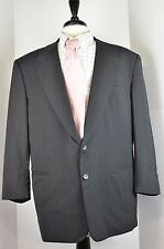 Pal Zileri Men's Suit Size 56 R Italy Size 44R US Zegna Cloth Two Button Wool