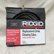 Ridgid 89400 Hollow Core Drain Cleaning Cable 516 In X 50 Ft