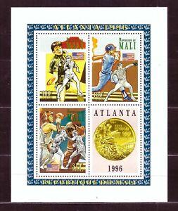 Mali Michel I, III, VI - Olympische Sommerspiele 1996, Atlanta mit Boxen, Baseb.