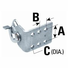 "SeaStar Dual Cable Hook Clip for 33C Series A:3/4"" B:3/8"" C:13/64"" 035531 MD"