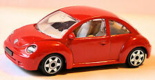 VW Volkswagen New Beetle Typ 9C 1997-2005 rot red 1:43 Bburago