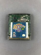 Legend of Zelda Oracle of Ages GameBoy Color Green Authentic 1998