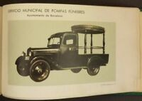 1960s Barcelona Municipal Funeral Parlors Catalog of Coffins, Urns & Hearses