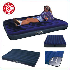AIR BED MATTRESS Full Size Camping Airbed Inflatable Downy Sleepeng Rest Outdoor